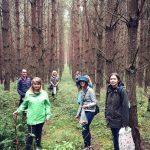 Grzybobranie piękno natury jak dobrze razem spacerować po lesie