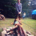 Grzybobranie piękno natury praezes kocha ogniska