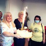 Urodziny prezesa fundacji cała fundacja świętuje