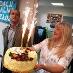 Urodziny prezesa fundacji nie obyło się bez tortu