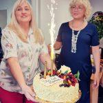 Urodziny prezesa fundacji oprócz tortu było też i gromkie sto lat